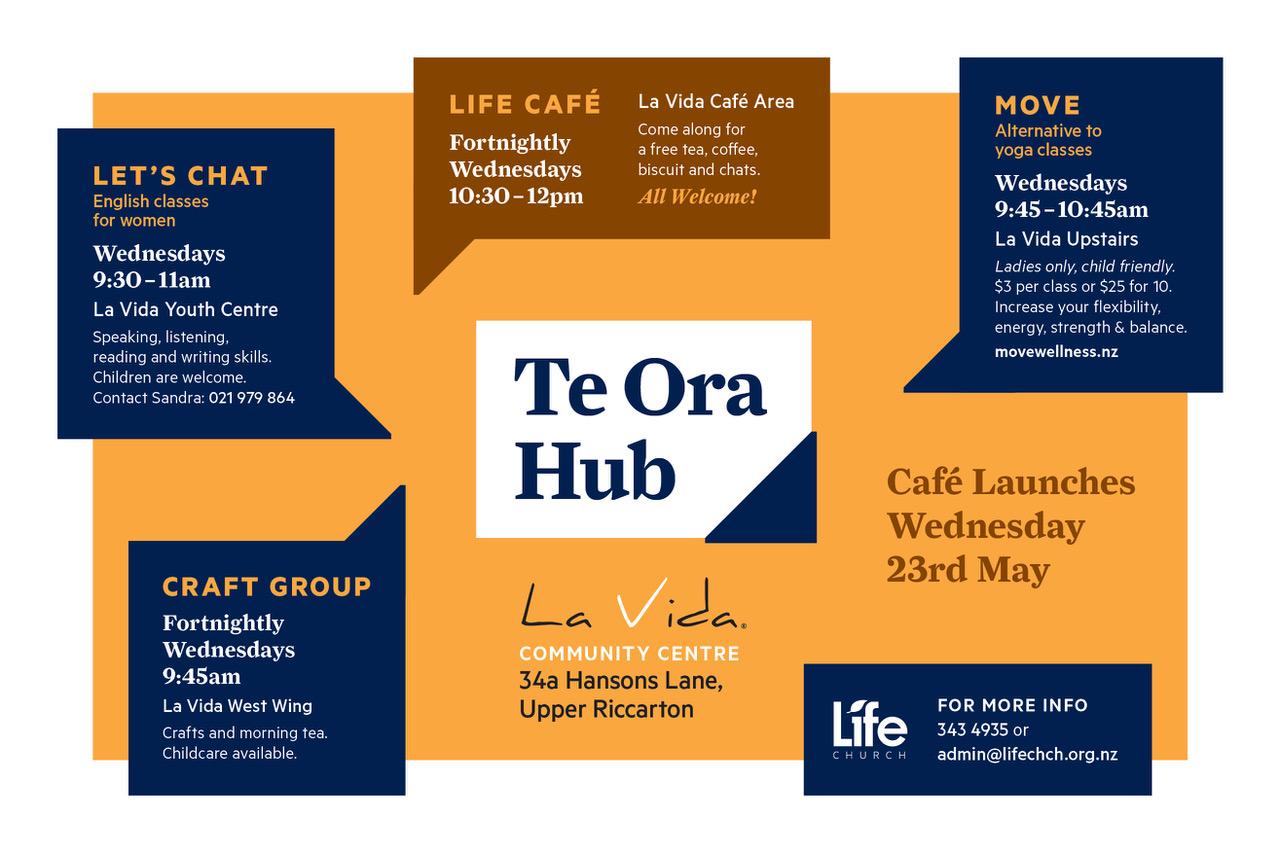 Te Ora Hub opening